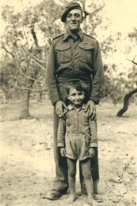 Lance Sergeant Victor J Lewis, c 1943.