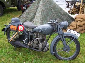 NSU Luftwaffe Motorcycle