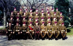 604-5 (Tamera) Platoon, The Parachute Regiment Company, 3rd Battalion ITC Catterick, 8 March 1996.