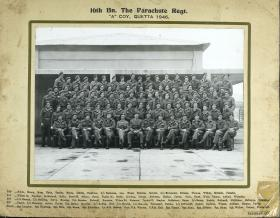 Group Photograph of A Company, 16th Parachute Battalion, 1946