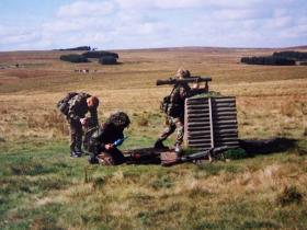 Carl Gustav - Otterburn Ranges early 90's