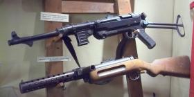 MP40 9mm Machine Pistol & Bergman 9mm Machine Carbine