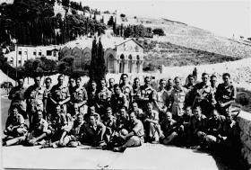 63 Company RASC Recreational Party, Jerusalem, Palestine, 1946