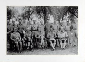 Group Photograph of 50th Parachute Brigade Headquarters
