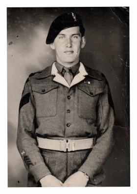Sgt 'Joe' Hall, date unknown.