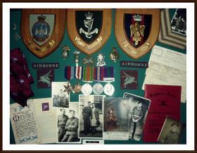 Military Mementos of Joseph Hall.