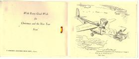 Christmas Card c1943/44