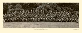 Group Photograph of A Company, 6th Parachute Battalion, August 1945