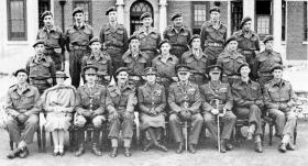 Officers of the 6th Airborne Divisional Signals Bulford 9 September 1943
