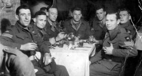 Sgts of the 6th (Royal Welch) Parachute Battalion, date unknown.