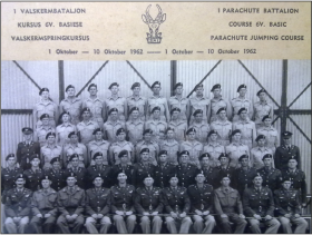 South African Basic Parachute Course 6V 1962