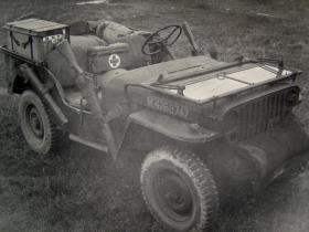 Airborne Medical Jeep, c.1944