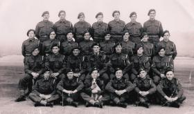 7 Platoon, C COY, 2nd Parachute Battalion, Hungerton Hall, Grantham, England, 1944