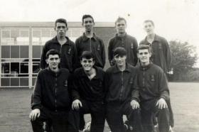 7 PARA RHA  Cross Country Team, Runners Up Army Championships, 1963.