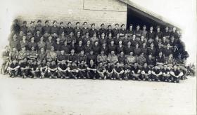 Group Photograph of HQ 6th Independent Parachute Brigade, 1947.