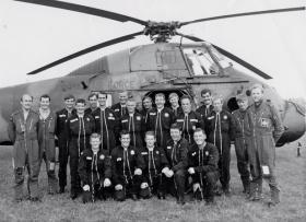 Rhine Army Parachute Association Display Team Sennelager West Germany, September 1977.