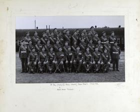 Group Photograph of 14th Parachute Battalion (TA) 1948-1950