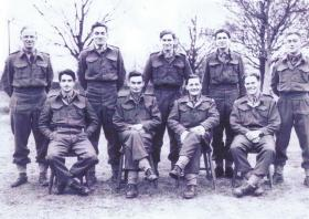 Group portrait 7th Bn (LI), The Parachute Regiment, Bulford 1943-4