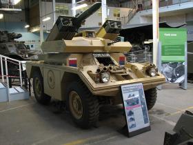 Mk 5 Ferret/Swingfire exhibited at the Tank Museum, Bovington