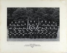 Group Photograph of No.3 Guard, 10th Parachute Battalion 1961