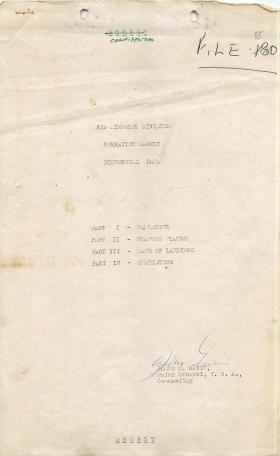 82nd Airborne Division historical data for Arnhem.