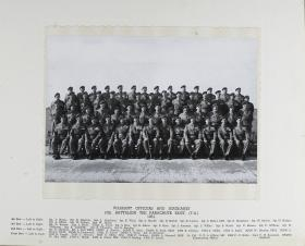 Group Photograph of Warrant Officers and Sergeants' Mess, 10th Parachute Battalion 1961