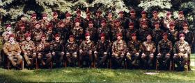 Group Photograph of 4 PARA, Germany circa 1984