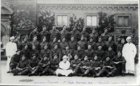 Group Photograph of Defence Platoon, 1st Parachute Brigade, 1944.