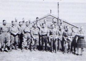 Members of 8th Para Bn Tilshead 1944