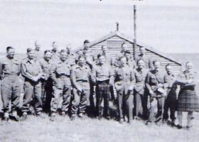Members of 8th Para Bn Tilshead 1944