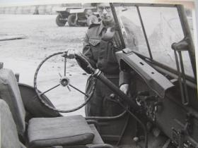 Detachable steering wheel for the Airborne jeep, c.1944