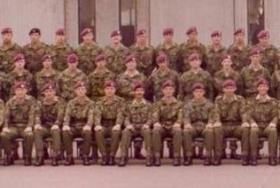 Troop commander in 9 Sqn 1976 to 1979