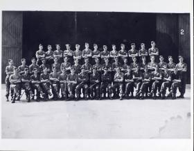 Group Photograph of Parachute Training Course, 1940