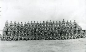 Group photograph of 93 (Airborne) Company RASC