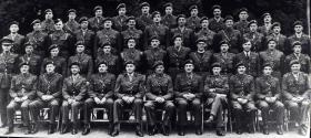 Group Photograph of HQ 1st Airborne Division, 1944