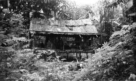 Guards Parachute Company 98 Patrol Base, Sarawak, Borneo, 1964