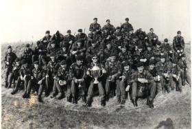 A Company, 4 Para, at Bn Skill At Arms Meeting (SAAM), c.1983