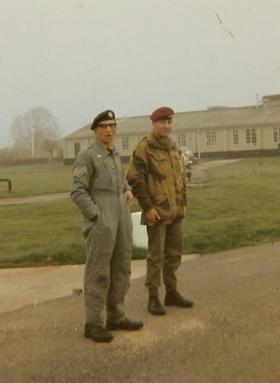 10 Para 'Penguin' (PJI) waiting for our parachute program to start, April 1970
