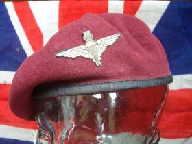 William Ralphs' beret which he wore at Arnhem