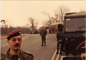 A Coy, 4 PARA Mortars at Warcup, 1980s