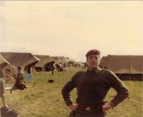 The late Cpl Ritchie Bristow (RIP), Hamlin, Germany, 1982