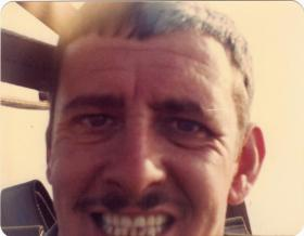 Snapshot of Sgt Barry MacWilliam, A Coy, 4 PARA, 1980s