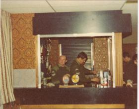 A Coy 4 Paras 'Watering Hole' in Grace Road, Liverpool, 1980s