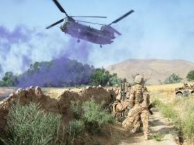 Air Assault by A Company 3 Para in Afghanistan