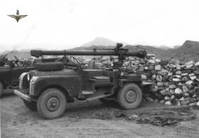 106mm Rifle mounted on an Airborne Land Rover, Radfan, 1957