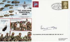 Commemorative Cover Territorial Airborne Forces