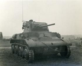 An Airborne Tetrarch tank, c.1944