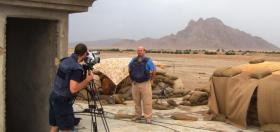 Alastair Leithead reporting live for BBC News in Maywand, Afghanistan