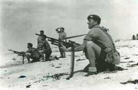 Anti aircraft training in Oman, 1964