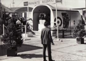 Argosy Fuselage Stand at Farnborough Air Show, 1961